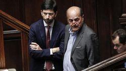 """Gentiloni e Zanda col pallottoliere sulla manovra. Bersani chiede ascolto, ma li rassicura: """"Non vogliamo la"""