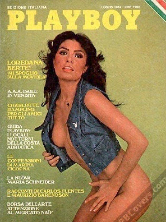 Playboy alessandra mussolini Mussolini granddaughters