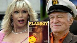 """Amanda Lear: """"Playboy fu una rivoluzione. Ma Hugh Hefner era un vecchietto ridicolo in pigiama circondato da donne"""