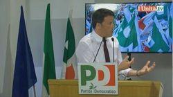 Renzi sbotta con il senatore della minoranza Pd: