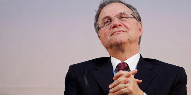 Ignazio Visco parla a braccio in chiusura della relazione di Bankitalia: