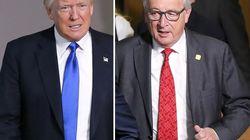 Trump e Juncker lavorano a un piano d'azione congiunto sul
