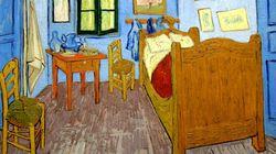 Dormire in quadro di Van Gogh? Ora si