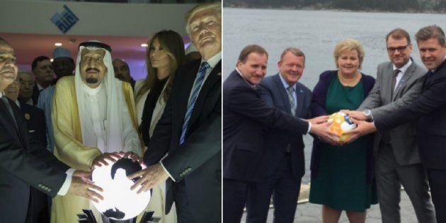 La foto dei cinque primi ministri nordici che prende in giro Donald