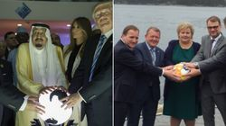 La foto dei primi ministri nordici che prende in giro Donald