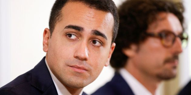 Luigi Di Maio of the 5-Star movement arrives for a news conference in Rome, Italy, October 17, 2016....