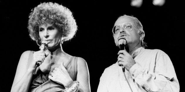 Gino Paoli e Ornella Vanoni 80 anni: