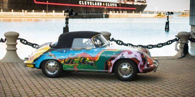 Janis Joplin, la sua Porsche coloratissima messa all'asta