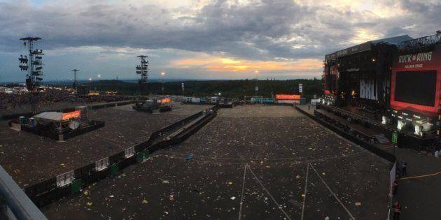 Riprende il festival Rock am Ring dopo lo stop per