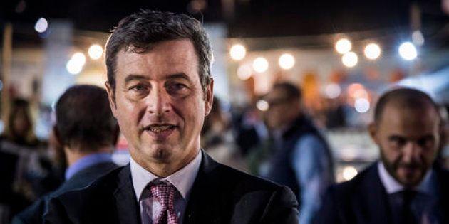 13/09/2017 Roma, il ministro della giustizia Andrea Orlando partecipa alla festa dell'Unita'. Nella foto...