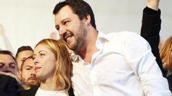 Salvini incita Meloni in romanesco: