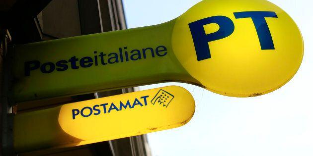 The logo of Poste Italiane is seen in Rome, Italy February 24, 2016. Reuters/Tony