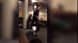 La polizia fa stendere a terra i clienti di un pub vicino a London