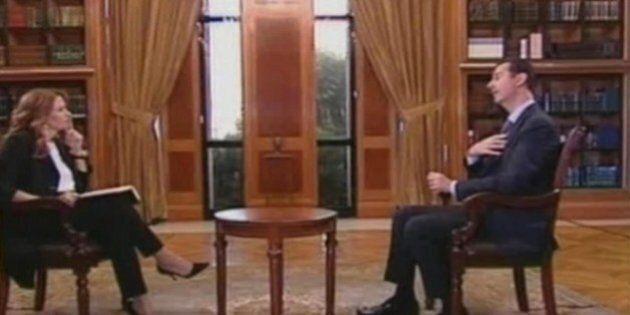 Siria, Monica Maggioni nella villa di Bashar al Assad: