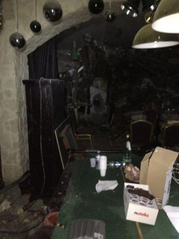 Le prime immagini delle stanze dell'Hotel Rigopiano: così i rifugiati sono riusciti a