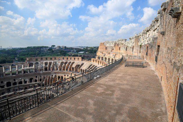 L'Attico del Colosseo riapre dopo 40 anni. Ora si potrà guardare Roma a 40 metri