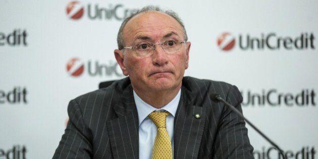 Unicredit, passo indietro di Federico Ghizzoni. I mercati fanno cambiare pelle alla