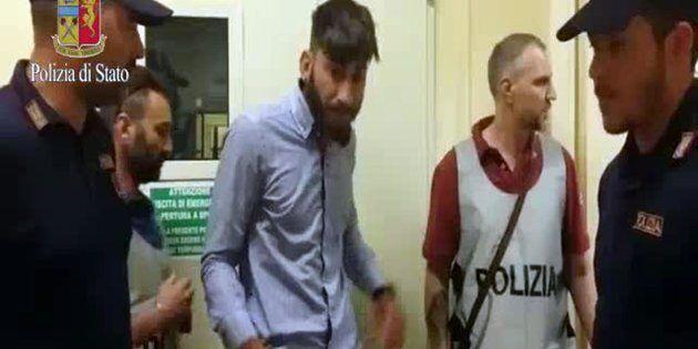 Un frame tratto da un video rilasciato dalla polizia mostra Serif Seferovic, un nomade 20enne con precedenti...