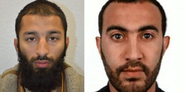 Two of the men shot dead by police following the attack on London Bridge and Borough Market on Saturday...