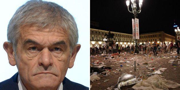 """Chiamparino sugli incidenti di Piazza San Carlo: """"Da Torino un brutto messaggio, ci vuole"""