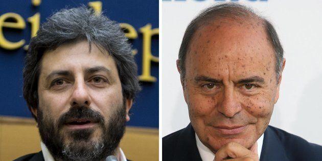 Roberto Fico contro Bruno Vespa: