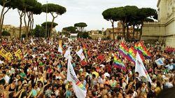 Al Pride è #Tempodilegge. E il Lazio prepara un testo contro l'omo-transfobia: