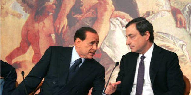 Berlusconi lancia Draghi premier e allontana le larghe intese: