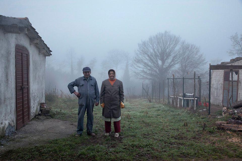 dino e Rosanna, al lavoro fin dalle prime luci del