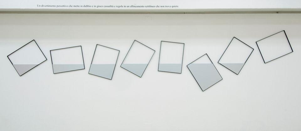 Quadri comunicanti 7+1_2008 Allestimento mostra Grazia Varisco - Se, Museo della Permanente, 2012 Foto...