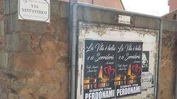 Innamorato tappezza un paese in Sardegna di manifesti: