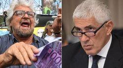 Grillo punzecchia Casini sulla commissione banche: