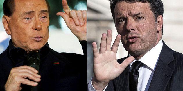 Berlusconi invita Renzi ad andare avanti assieme, contro i