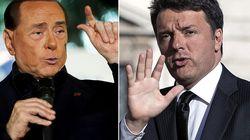 Il Cav invita Renzi ad andare avanti assieme, contro i
