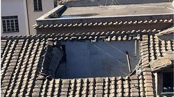 Crolla il tetto del liceo Virgilio di Roma. Gli studenti: