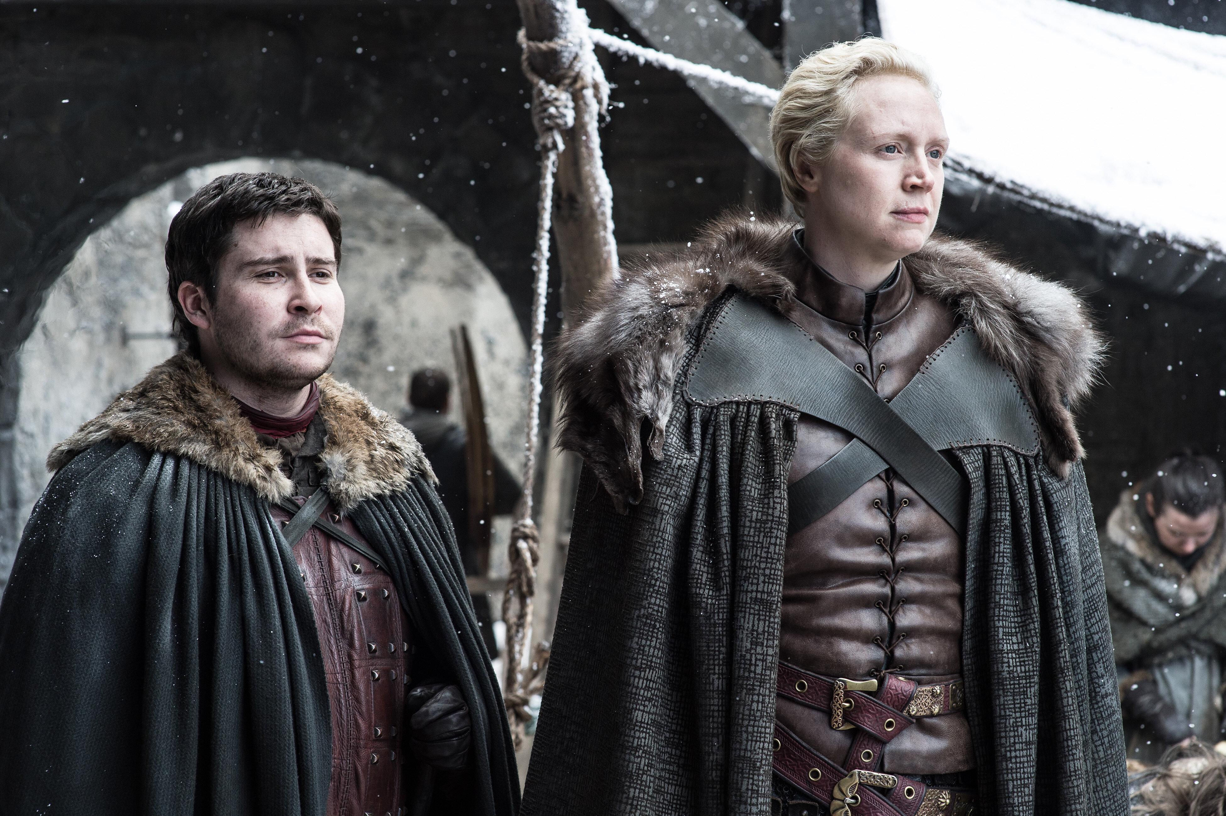 "Daniel Portman as Podrick Payne on ""Game of Thrones"""