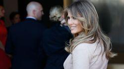 Melania e Barron traslocano Casa Bianca: la First Lady in arrivo a Washington con 90 furgoni di