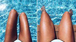 La foto di questa donna in bikini è diventata virale per il giusto
