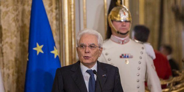 20/06/17 Roma Il presidente della Repubblica riceve i reali d'Olanda, nella foto Il Presidente della...