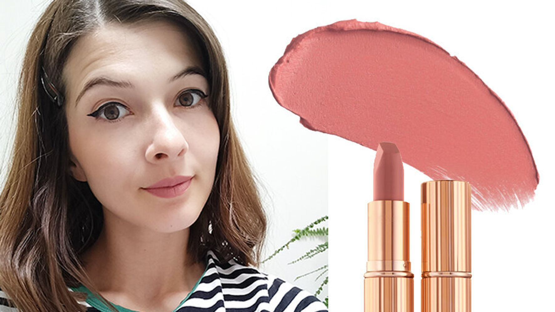 How Does Charlotte Tilbury's Pillow Talk Lipstick Compare To