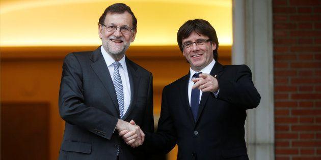 Mariano Rajoy a Carles Puigdemont: