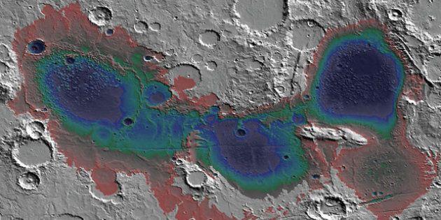 Questo antico bacino idrotermale trovato su Marte potrebbe rivelare un segreto su come è nata la vita...