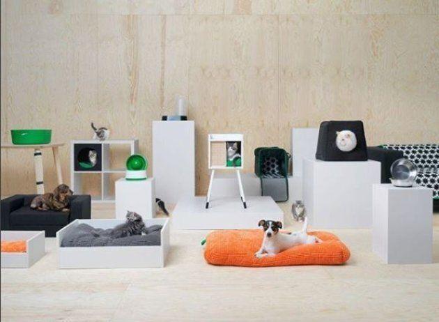 Ikea lancia una linea di mobili dedicata a cani e gatti ed è impossibile non impazzire sfogliando il