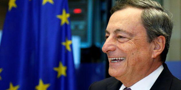 European Central Bank (ECB) President Mario Draghi addresses the European Parliament's Economic and Monetary...