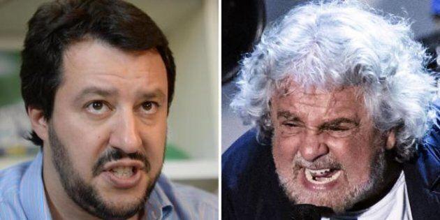 Beppe Grillo attacca Matteo Salvini: