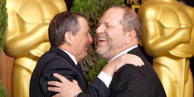 Harvey Weinstein è stato ringraziato più volte di Dio dai vincitori degli