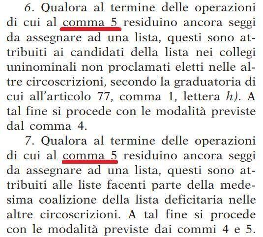 Nel Rosatellum approvato in tutta fretta c'è un errore: le norme sull'assegnazione dei seggi sono in