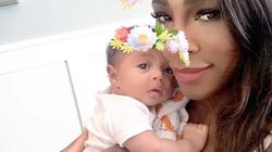 La figlia di Serena Williams ha un mese e mezzo e ha già 80mila follower su