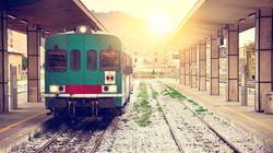 Travolto dal treno nella notte, un testimone:
