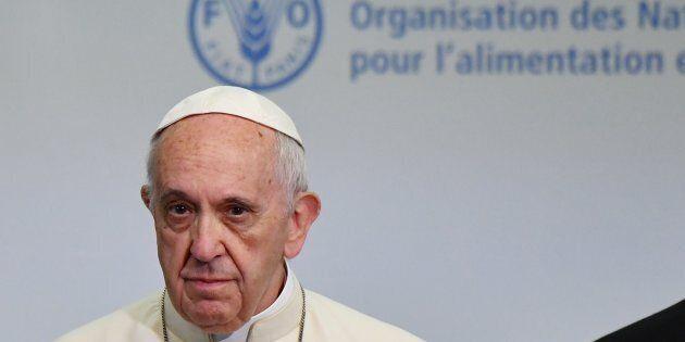 Il Papa alla Fao e quella frecciata contro Trump:
