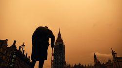 Perché il cielo di Londra è diventato